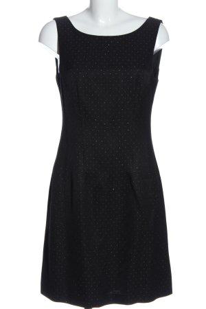 1.2.3 Paris Mini-jurk zwart-wit volledige print elegant