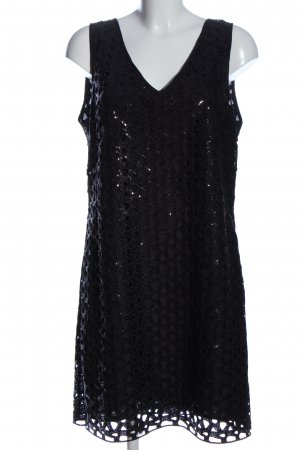 1.2.3 Paris Robe courte noir élégant