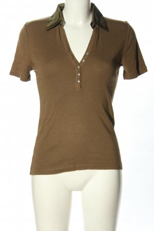 1.2.3 Paris Camiseta tipo polo color bronce look casual