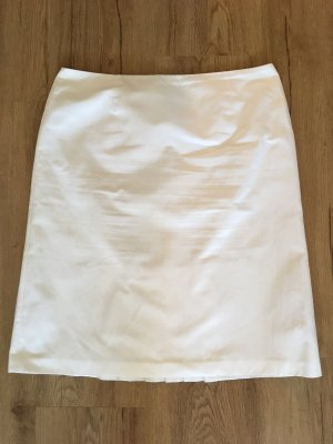 1.2.3 Paris Falda midi blanco
