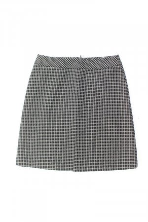 1.2.3 Paris Skirt black wool