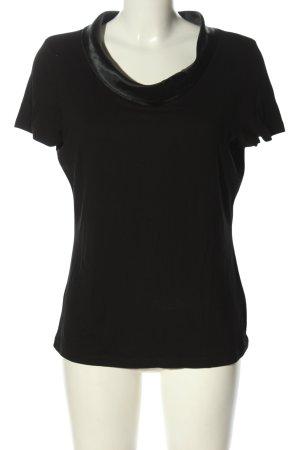 1.2.3 Paris T-Shirt schwarz Business-Look