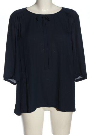 1.2.3 Paris Blouse avec noeuds bleu style d'affaires