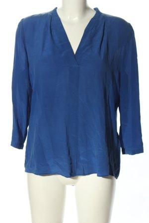 1.2.3 Paris Jedwabna bluzka fiolet W stylu casual