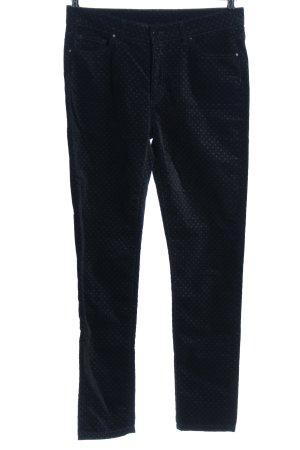 1.2.3 Paris Skinny Jeans black spot pattern casual look