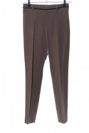 1.2.3 Paris Stoffhose braun Business-Look