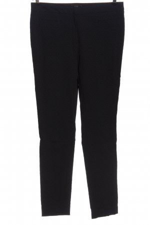1.2.3 Paris Jersey Pants black allover print casual look