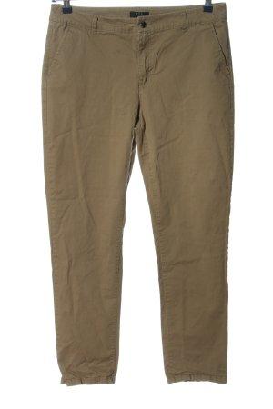1.2.3 Paris Stoffen broek khaki casual uitstraling