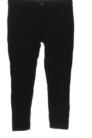 1.2.3 Paris Pantalone jersey nero stile casual