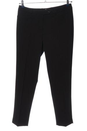 1.2.3 Paris Pantalón tipo suéter negro estilo «business»