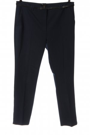 1.2.3 Paris Pantalon en jersey bleu élégant