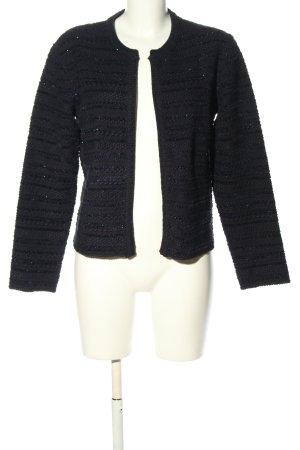 1.2.3 Paris Cardigan tricotés noir motif rayé style décontracté