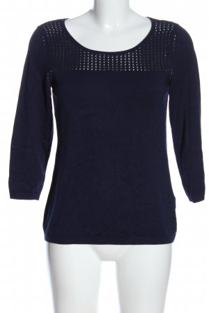 1.2.3 Paris Knitted Jumper blue casual look