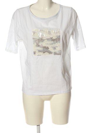 1.2.3 Paris T-shirt blanc style décontracté