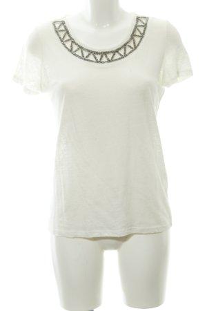1.2.3 Paris T-Shirt wollweiß Elegant