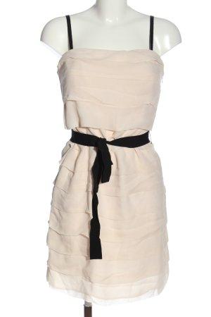 1.2.3 Paris Vestido tipo overol crema elegante