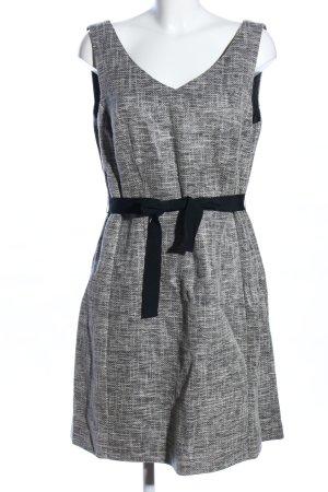 1.2.3 Paris Pinafore dress light grey-black flecked business style