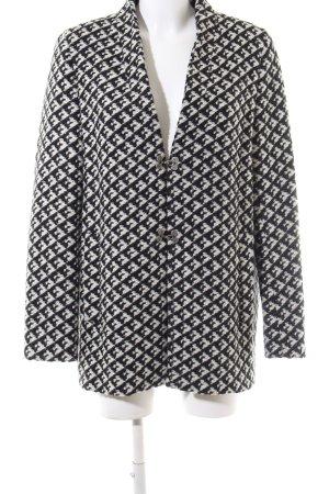 1.2.3 Paris Overgangsjack zwart-wit abstract patroon zakelijke stijl