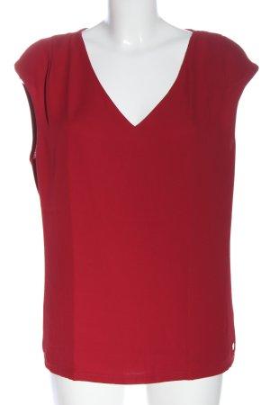1.2.3 Paris Koszulka z dekoltem w kształcie litery V czerwony W stylu casual