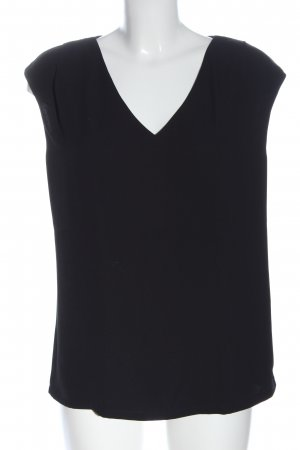 1.2.3 Paris Koszulka z dekoltem w kształcie litery V czarny W stylu casual