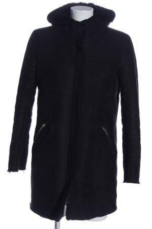 1.2.3 Paris Giacca invernale nero stile casual