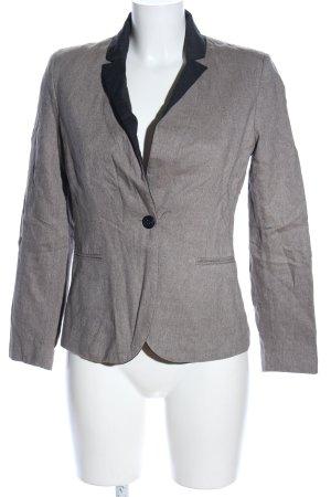 1.2.3 Paris Blazer in lana grigio chiaro-nero puntinato stile casual