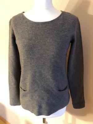 1.2.3. UN DEUX TROIS Paris Crewneck Sweater grey