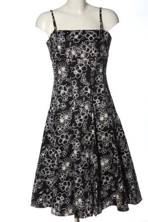 1.2.3. UN DEUX TROIS Paris Sukienka o kroju litery A czarny-biały Elegancki