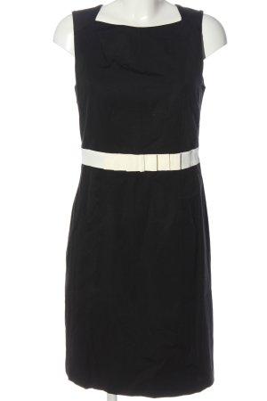 1.2.3. UN DEUX TROIS Paris Ołówkowa sukienka czarny-biały W stylu biznesowym