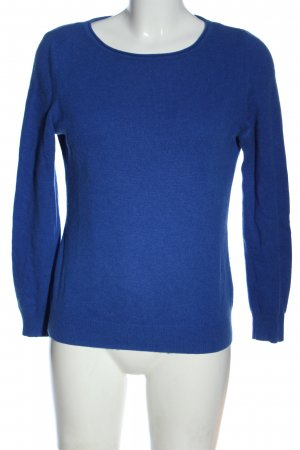 1.2.3. UN DEUX TROIS Paris Pullover in cashmere blu stile casual