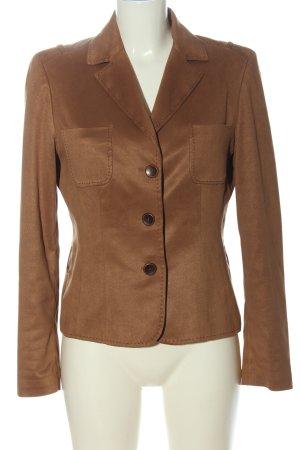 1.2.3. UN DEUX TROIS Paris Blazer corto marrone stile professionale
