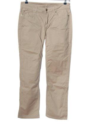 1.2.3. UN DEUX TROIS Paris Spodnie materiałowe w kolorze białej wełny