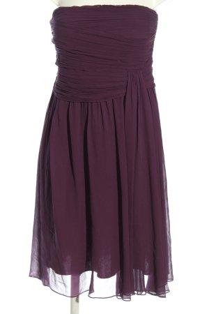 1.2.3. UN DEUX TROIS Paris Sukienka bez ramiączek fiolet W stylu casual
