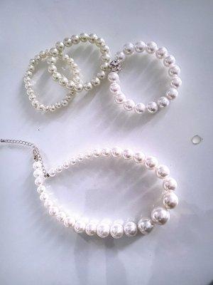 1 Halskette 3 armbänder Neu