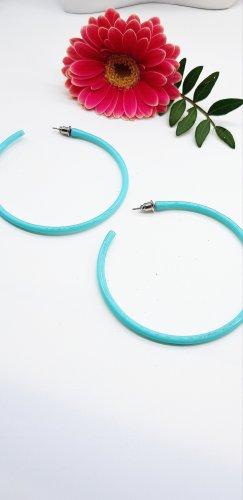 Créoles bleu clair