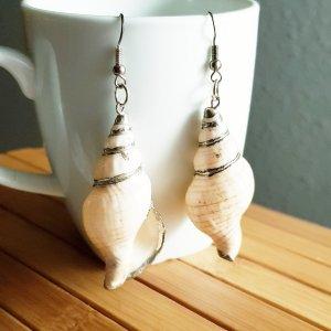 1 Paar Muschel Ohrringe