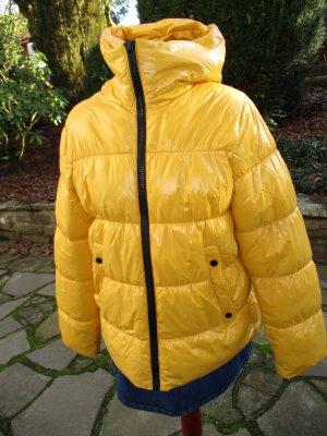 1 x getragen - Zara Puffer Jacke gelb -