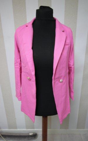 Unisex blazer roze