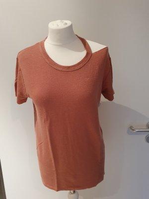10 Days T-shirt roodbruin