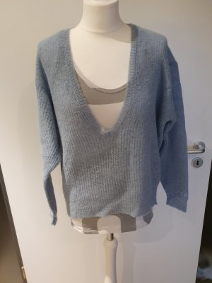 10 Days Coarse Knitted Sweater pale blue
