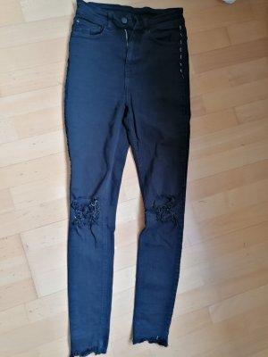10 Days Jeans taille haute noir