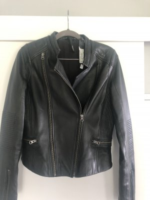 10 Days Leather Jacket black