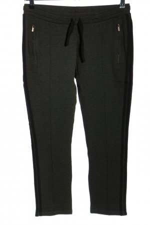 10 Days Jersey Pants black flecked casual look