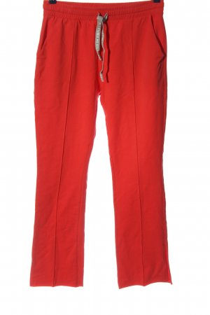 10 Days Jersey Pants red casual look