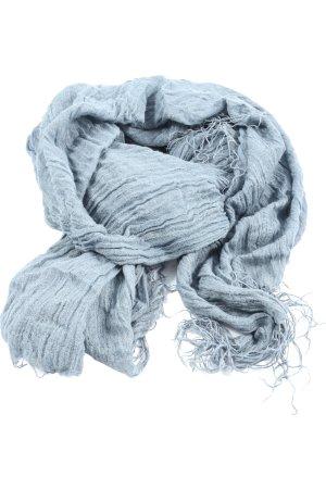 10 Days Gebreide sjaal blauw Webpatroon casual uitstraling