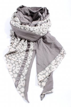 10 Days Knitted Scarf light grey-natural white casual look