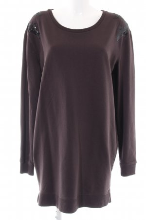 10 Days Sweat Dress brown casual look