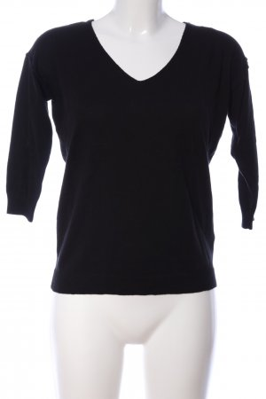 10 Days V-Neck Sweater black-white casual look