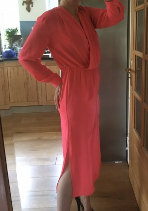 10 FEET Robe à manches longues rose polyester
