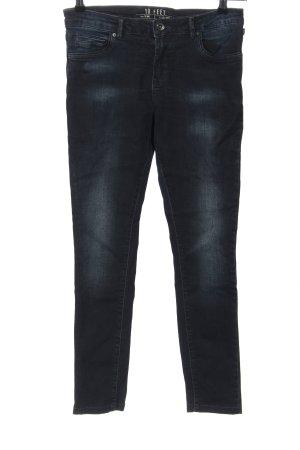 10 FEET Jeans skinny bleu style décontracté